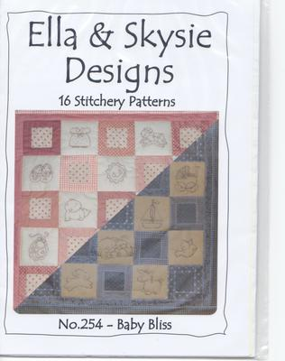 No 254 - Baby Bliss quilt