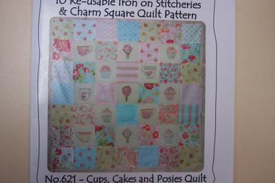 Cups, Cakes and Posies Quilt